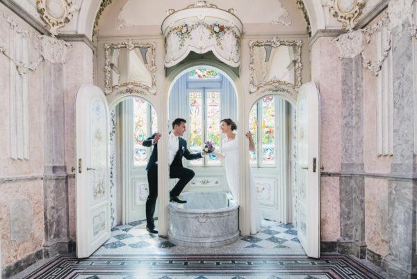 Hochzeitsreportage Villa Raczynski Bettina & Marcel